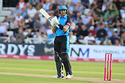 Martin Guptil of Worcestershire Rapids during the Vitality T20 Blast North Group match between Nottinghamshire County Cricket Club and Worcestershire County Cricket Club at Trent Bridge, West Bridgford, United Kingdon on 18 July 2019.