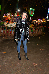 LUCY WATSON at the Hyde Park Winter Wonderland - VIP Preview Night, Hyde Park, London on 17th November 2016.