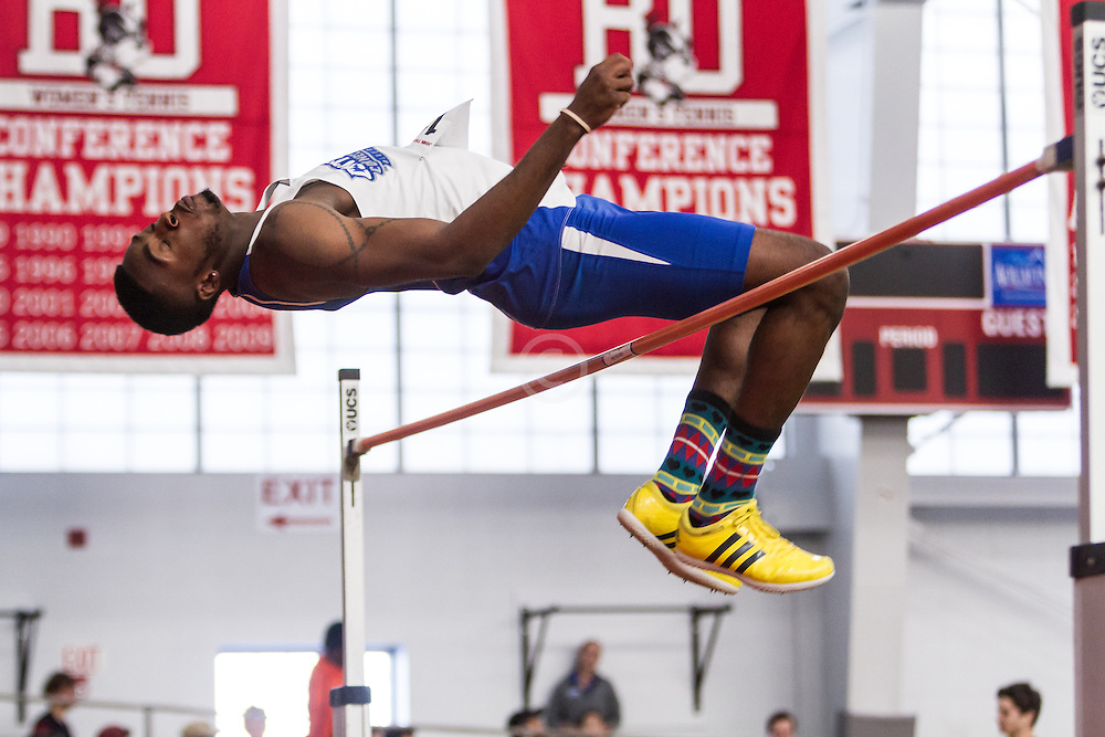 Boston University John Terrier Classic Indoor Track & Field: mens high jump, Central Connecticut