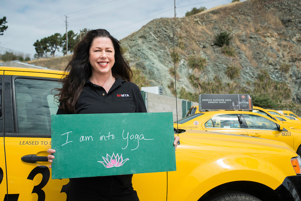 I am into Yoga | Samantha, SFMTA Taxi Investigator | May 6, 2013