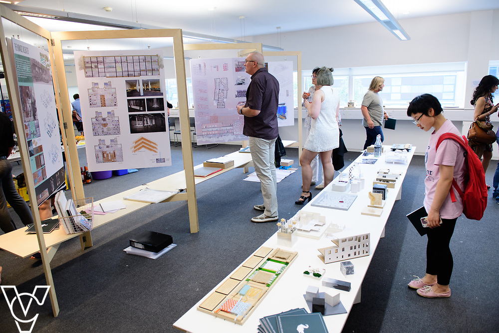 University of Lincoln College of Arts degree show.<br /> <br /> Picture: Chris Vaughan Photography<br /> Date: June 2, 2017
