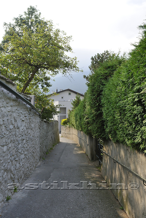 Narrow street of Telfs
