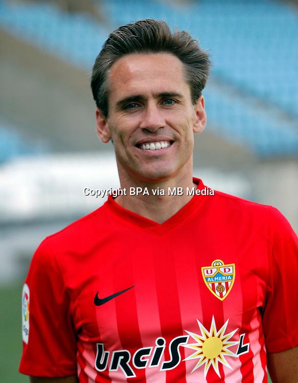 Spain - La Liga B 123 _ 2016-2017 / <br /> ( U.D. Almeria ) - <br /> Miguel Angel Garc&iacute;a Perez-Roldan &quot; Corona &quot;