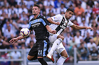 Sergej Milinkovic-Savic Lazio Sami Khedira Juventus <br /> Torino 25-08-2018 Allianz Stadium Football Calcio Serie A 2018/2019 Juventus - Lazio Foto OnePlusNine / Insidefoto
