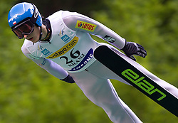 Grzegorz Mietus of Poland during Ski Jumping Summer Continental Cup in Kranj, on July 2, 2011, in Kranj, Slovenia. (Photo by Vid Ponikvar / Sportida)