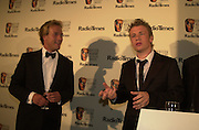 Ben Fogle and Jamie Oliver. BAFTA Television Awards, sponsored by the Radio Times, Grosvenor House. London. 13 May 2001. © Copyright Photograph by Dafydd Jones 66 Stockwell Park Rd. London SW9 0DA Tel 020 7733 0108 www.dafjones.com