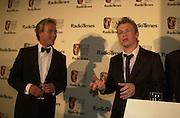 Ben Fogle and Jamie Oliver. BAFTA Television Awards, sponsored by the Radio Times, Grosvenor House. London. 13 May 2001. © Copyright Photograph by Dafydd Jones 66 Stockwell Park Rd. London SW9 0DA Tel 020 7733 0108 www.dafjones.com