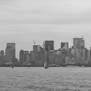 Panoramic of New York without the World Trade Center, NY. USA.