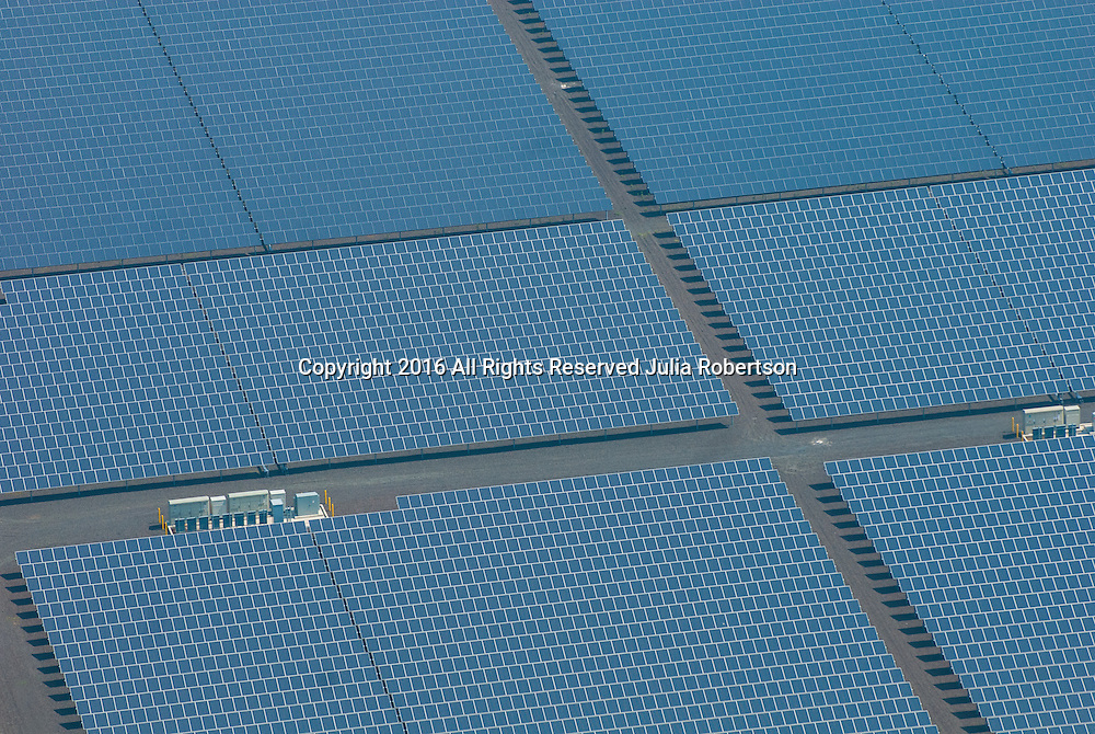 Aerial view of Solar Panel Farm in Vineland New Jersey