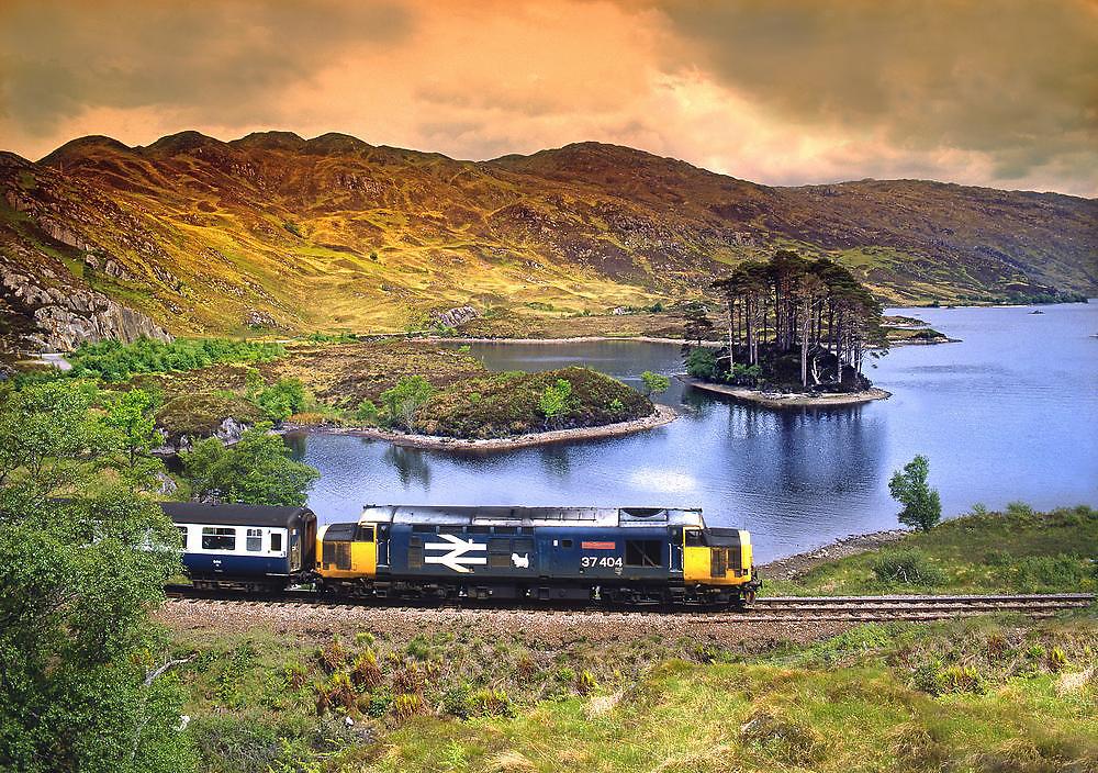 Class 37, Loch Eilt 1980's