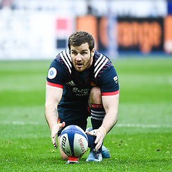Camille Lopez of France during the RBS Six Nations match between France and Wales at Stade de France on March 18, 2017 in Paris, France. (Photo by Anthony Dibon/Icon Sport)