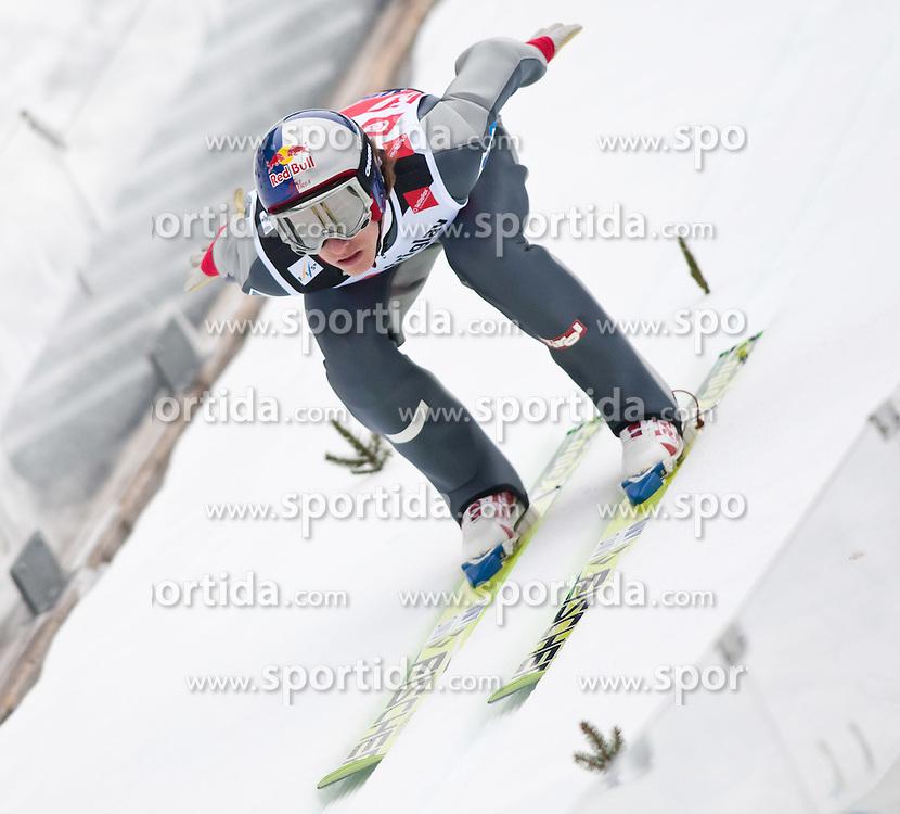 18.03.2010, Triglav, Planica, SLO, FIS SKI Flying World Championships 2010, Training, im Bild SCHLIERENZAUER Gregor ( AUT, #69 ), EXPA Pictures © 2010, PhotoCredit: EXPA/ J. Groder / SPORTIDA PHOTO AGENCY