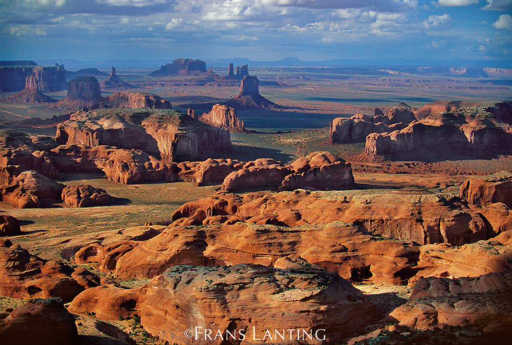 Monument Valley (aerial), Arizona