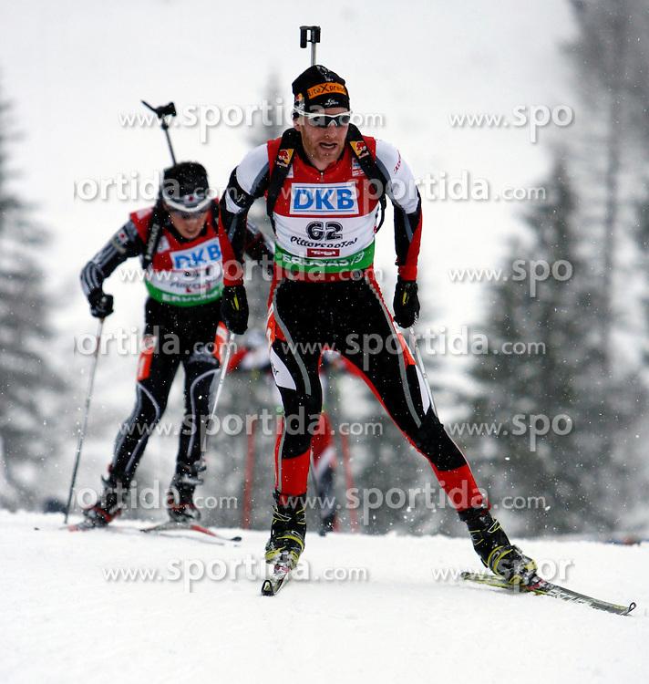 15.12.2011, Biathlonzentrum, Hochfilzen, AUT, E.ON IBU Weltcup, 3. Biathlon, Hochfilzen, Sprint Maenner, im Bild Simon Eder (AUT) // during Sprint men E.ON IBU World Cup 3th Biathlon, Hochfilzen, Austria on 2011/12/15. EXPA Pictures © 2011, PhotoCredit: EXPA/ Oskar Hoeher