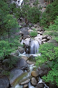 Cascade Creek, Yosemite Valley, Yosemite National Park (World Heritage Site), California