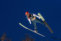 Markus Eisenbichler (GER) during the Trial Round of the Ski Flying Hill Individual Competition at Day 1 of FIS Ski Jumping World Cup Final 2019, on March 21, 2019 in Planica, Slovenia. Photo by Matic Ritonja / Sportida