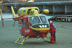 Wellington-Police use rescue helicopter for man in Porirua inner harbour