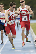 Young, Sean competing in the 4x400m relay at the 2007 OTFA Junior-Senior Championships in Ottawa.