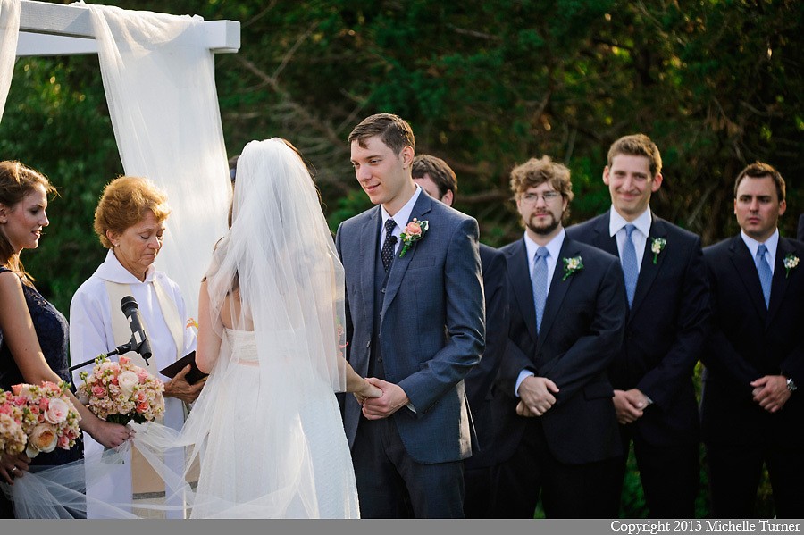 Martha's Vineyard Wedding at Hooked.  Images by Michelle Turner, Destination Wedding Photographer.