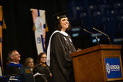 University Ministry Assistant Director and graduate, Michelle Wheatley, was selected as the Student Speaker for the Graduate School Commencement, McCarthey Athletic Center.