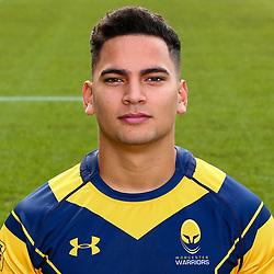 Afe Haisila Lokotui of Worcester Warriors - Mandatory by-line: Robbie Stephenson/JMP - 25/08/2017 - RUGBY - Sixways Stadium - Worcester, England - Worcester Warriors Headshots