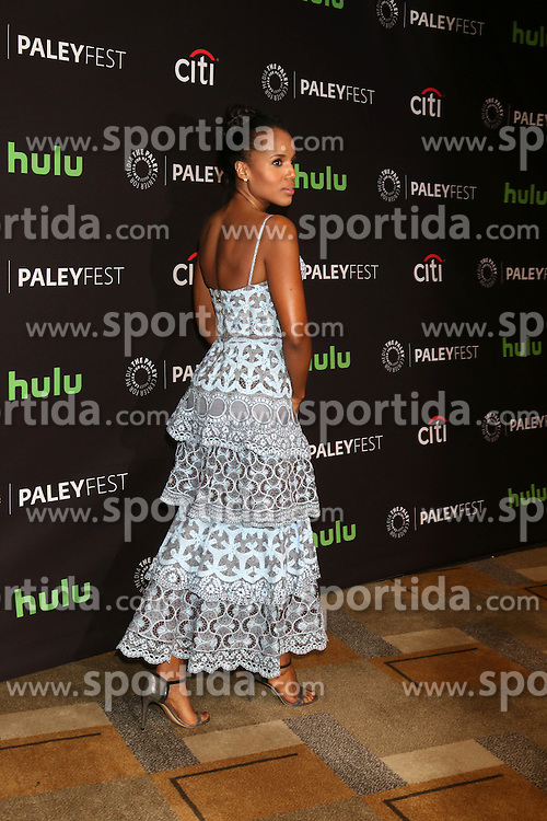 Kerry Washington, at &quot;Scandal&quot; at the 33rd Annual PaleyFest Los Angeles, Dolby Theater, Hollywood, CA 03-15-16. EXPA Pictures &copy; 2016, PhotoCredit: EXPA/ Photoshot/ Martin Sloan<br /> <br /> *****ATTENTION - for AUT, SLO, CRO, SRB, BIH, MAZ, SUI only*****