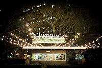 Closing time at Shake Shack in Madison Park, New York City