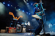 Weezer performing at The Bamboozle in East Rutherford, New Jersey. May 2, 2010. Copyright © 2010 Matt Eisman. All Rights Reserved.