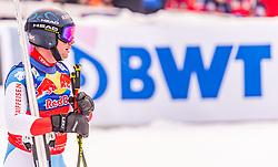 25.01.2020, Streif, Kitzbühel, AUT, FIS Weltcup Ski Alpin, Abfahrt, Herren, im Bild Beat Feuz (SUI) // Beat Feuz of Switzerland reacts after his run in the men's downhill of FIS Ski Alpine World Cup at the Streif in Kitzbühel, Austria on 2020/01/25. EXPA Pictures © 2020, PhotoCredit: EXPA/ Stefan Adelsberger