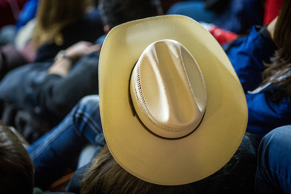 Top of Cowboy hat at a Farm Show in Harrisburg, Pennsylvania, USA