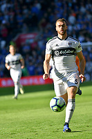 Football - 2018 / 2019 Premier League - Cardiff City vs. Fulham<br /> <br /> Calum Chambers of Fulham defends , at Cardiff City Stadium.<br /> <br /> COLORSPORT/WINSTON BYNORTH