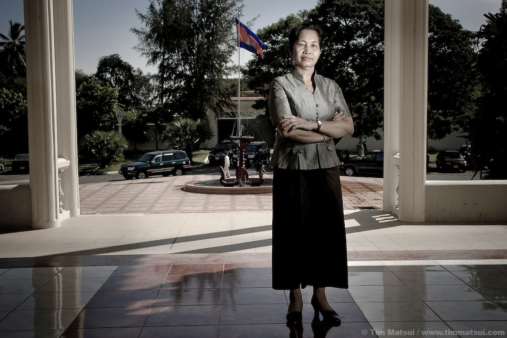 Chou Bun Eng, Cambodian Ministry of the Interior