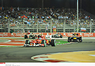 en nocturne ..vettel (sebastian) - (ger) - *** Local Caption *** alonso (fernando) - (esp) -