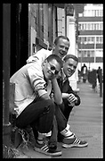 Bronski Beat. Spitalfields,London.<br />