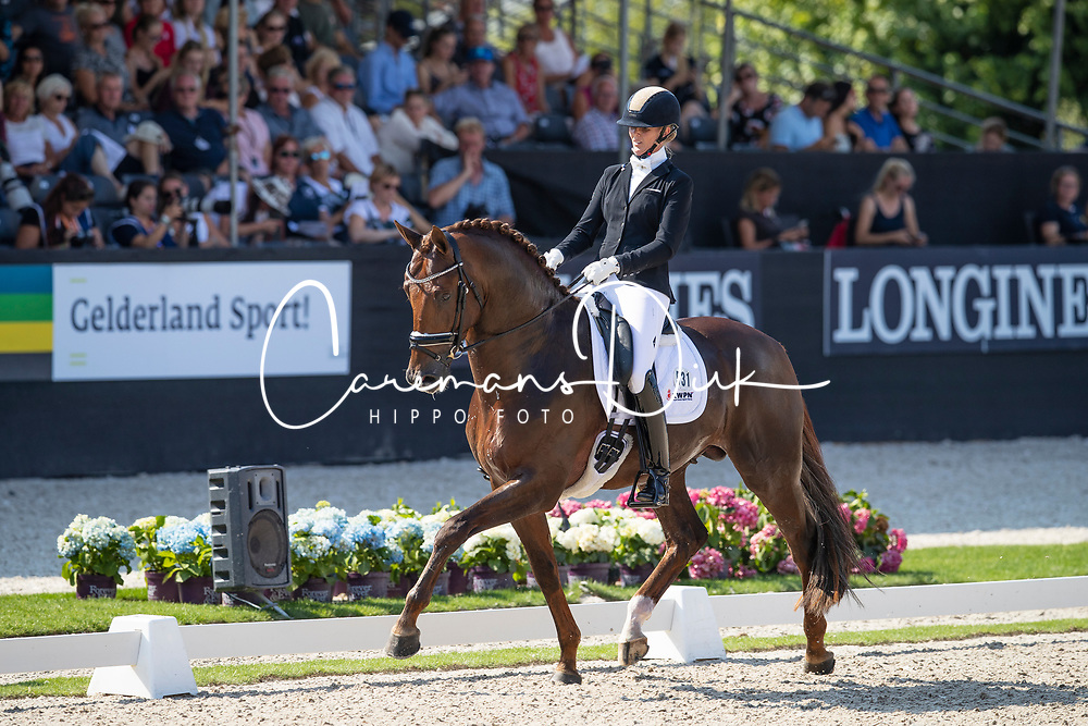 Lenaerts Joyce, NED, Iconic B<br /> World ChampionshipsYoung Dressage Horses<br /> Ermelo 2018<br /> © Hippo Foto - Dirk Caremans<br /> 02/08/2018