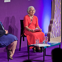 Judith Kerr on stage at the Edinburgh International Book Festival 2013. <br /> 24 August 2013. <br /> <br /> Photograph by Chris Scott/Writer Pictures <br /> WORLD RIGHTS