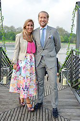 JAKE & SAMIRA PARKINSON-SMITH at a party to launch the Taylor Morris Explorer Collection held at the Serpentine Lido, Hyde Park, London on 11th May 2016.