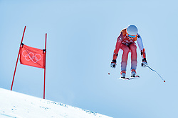 17.02.2018, Jeongseon Alpine Centre, Jeongseon, KOR, PyeongChang 2018, Ski Alpin, Damen, Super G, im Bild Michelle Gisin (SUI) // Michelle Gisin of Switzerland in action during ladie's SuperG of the Pyeongchang 2018 Winter Olympic Games at the Jeongseon Alpine Centre in Jeongseon, South Korea on 2018/02/17. EXPA Pictures © 2018, PhotoCredit: EXPA/ Johann Groder