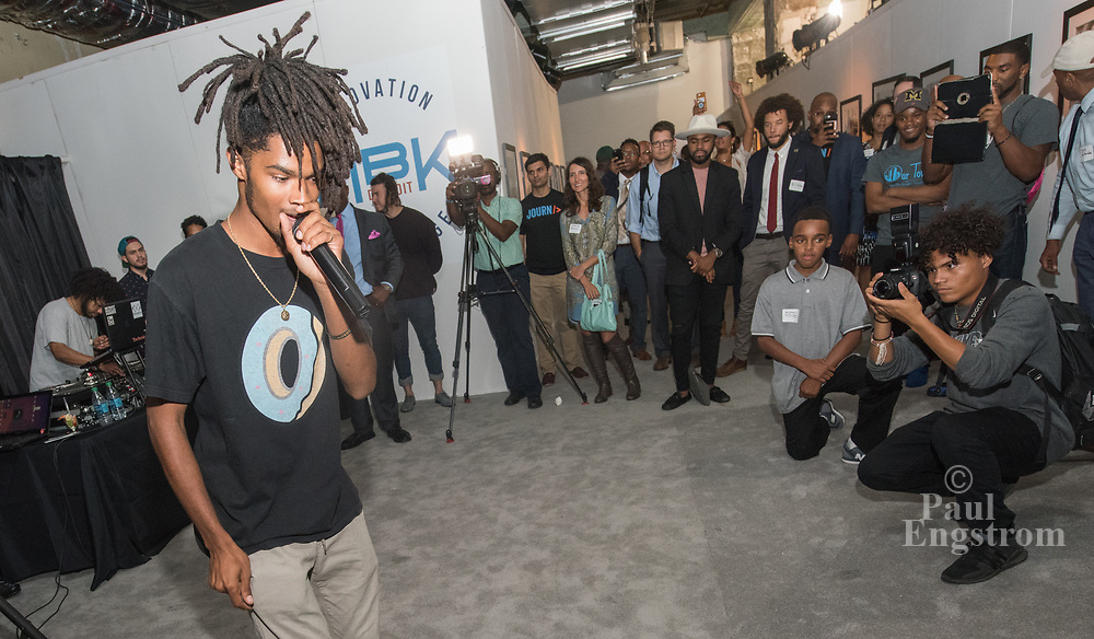 Four creative youth programs, among the winners of My Brother's Keeper Detroit's $500,000 Innovation Challenge last year, showcase their results and help tell the stories of the young men they've impacted at an exhibit on the first floor of the First National Building 660 Woodward Avenue.  The Innovation Challenge grants were awarded through a partnership of the Campaign for Black Male Achievement and The Skillman Foundation.  The exhibit runs through October 14, 2017, Mon-Sat, 11am-7pm.