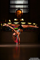 Dance As Art Grand Central Terminal with dancer Sarah Botero
