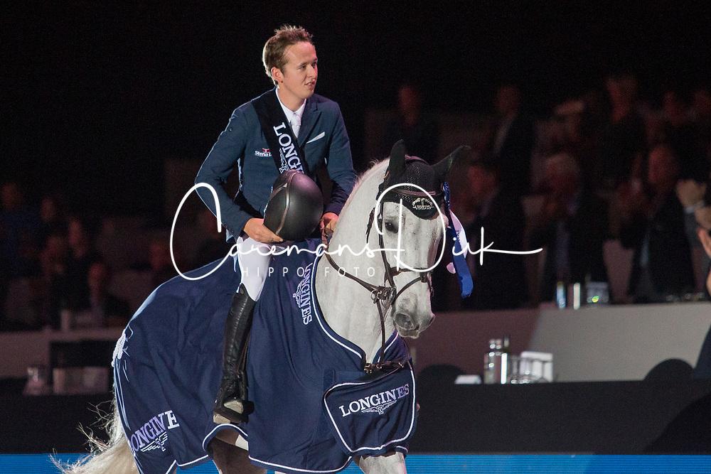 Allen Bertram, IRL, Gin Chin vh Lindenhof<br /> Jumping Indoor Maastricht 2018<br /> © Hippo Foto - Sharon Vandeput<br /> 25/11/18