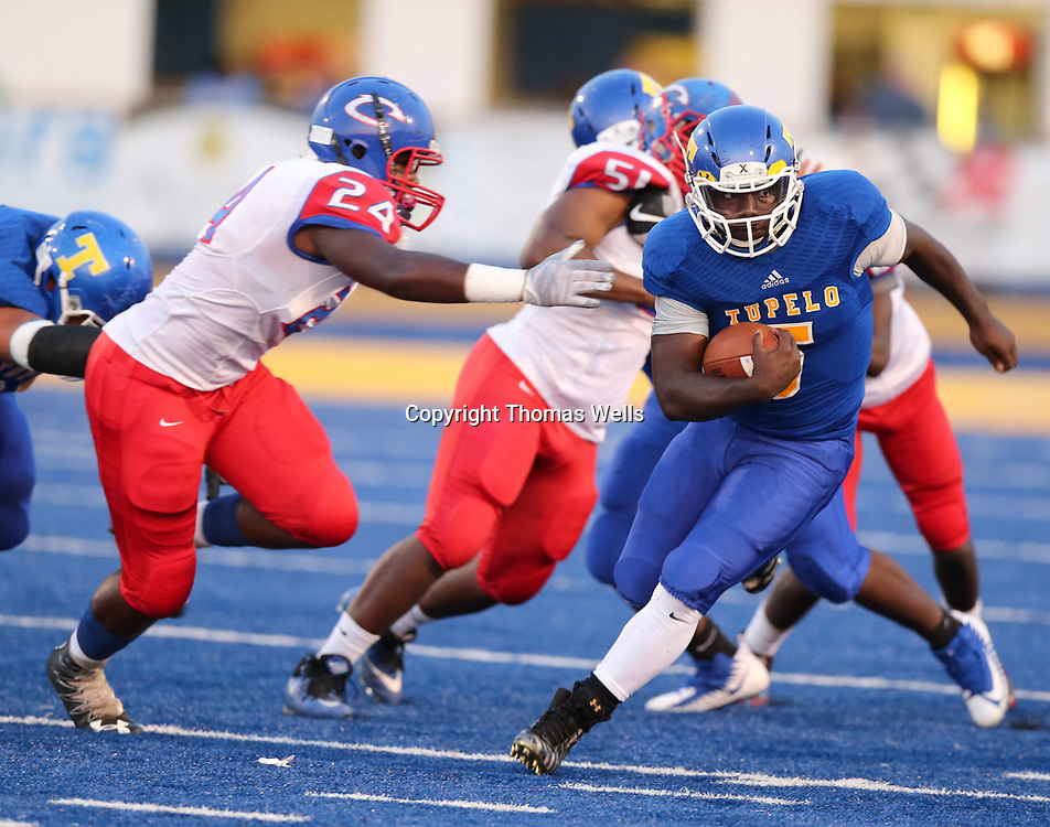 Tupelo running back Jaquerrious Williams and the Golden Wave cruised past Clarksdale Friday night.