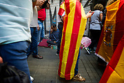 Pro-Unity rally marches through Barcelona in response to last Sundays disputed referendum on Catalan independence on October 8, 2017 in Barcelona, Spain. Christian Mantuano / OneShot
