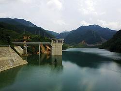 August 2, 2017 - Guizhou, Guizhou, China - The Ceheng Reservoir located in Ceheng, southwest China's Guizhou Province (Credit Image: © SIPA Asia via ZUMA Wire)