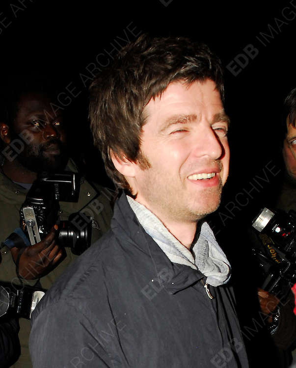 02.APRIL.2008. LONDON<br /> <br /> NOEL GALLAGHER LEAVING GROUCHO PRIVATE MEMBERS CLUB IN SOHO, LONDON AT 1.45AM AND WALKED DOWN THE STREET TO SOHO HOUSE WHERE HE LEFT AT 2.30AM LOOKING A LITTLE WORSE FOR WEAR.<br /> <br /> BYLINE: EDBIMAGEARCHIVE.CO.UK<br /> <br /> *THIS IMAGE IS STRICTLY FOR UK NEWSPAPERS AND MAGAZINES ONLY*<br /> *FOR WORLD WIDE SALES AND WEB USE PLEASE CONTACT EDBIMAGEARCHIVE - 0208 954 5968*