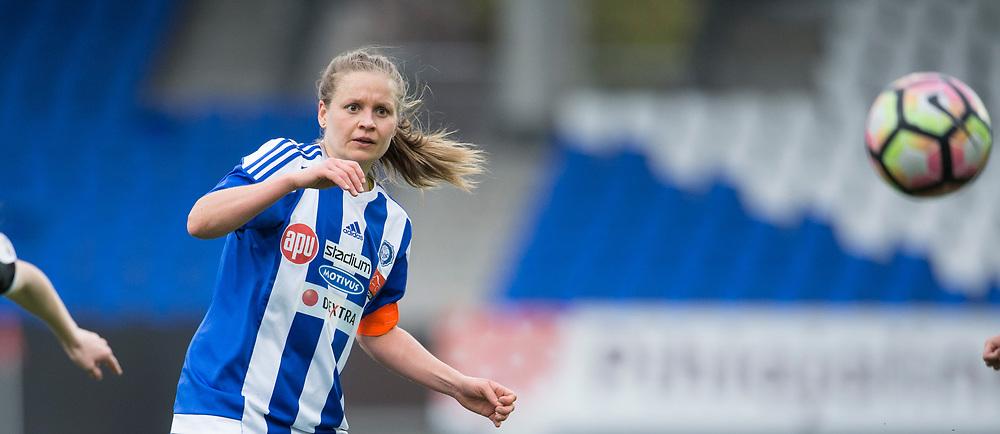 Essi Sainio. HJK - Pallokissat. Naisten Liiga. Helsinki. 14.5.2017. Photo: Jussi Eskola
