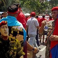 CLOSING OF CAMPAIGN OF HUGO CHAVEZ - VENEZUELA 2006 / CIERRE DE CAMPAÑA POLITICA DE HUGO CHAVEZ