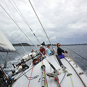 Sailing with Explore NZ from Paihia, around the Bay of Islands, New Zealand,, 18th November 2010 Photo Tim Clayton