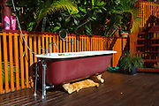 Claw footed bathtub, Fiji