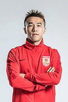 **EXCLUSIVE**Portrait of Chinese soccer player Han Zilong of Changchun Yatai F.C. for the 2018 Chinese Football Association Super League, in Wuhan city, central China's Hubei province, 22 February 2018.